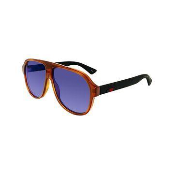 Gucci GG0009S Aviator Sunglasses