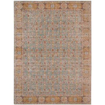 Amer Rugs Etracery Adia 8'11 X 11'11 Area Rug In Teal