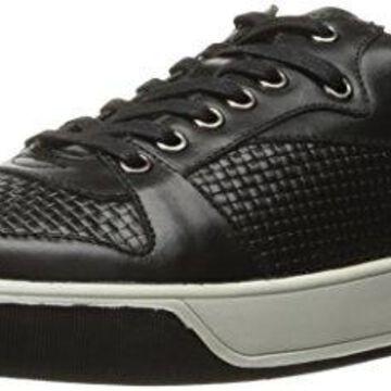English Laundry Men's Slam Fashion Sneaker, Black, 11 M US