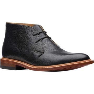 Bostonian Men's No16 Soft Chukka Boot Black Full Grain Leather