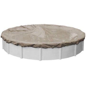 Robelle 20-Year Superior Round Winter Pool Cover, 33 ft. Pool