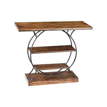 Sterling 138-113 Wood And Metal Console