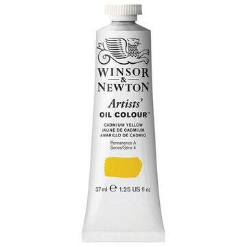 Winsor & Newton Artists Oil Colour, Cadmium Yellow, 37mL