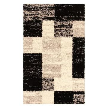 Superior Norwood Western Shag Area Rug, Black