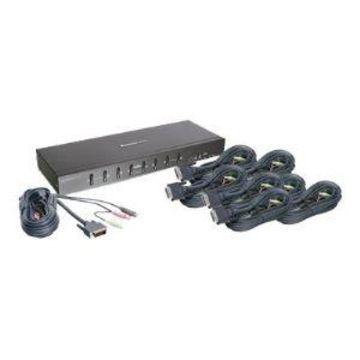 IOGEAR MiniView Pro GCS1208KIT1 - KVM / audio
