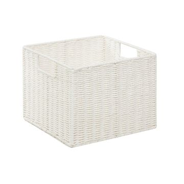 Honey Can Do Parchment Cord Storage Crate