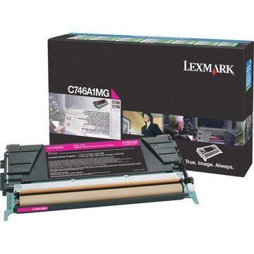 Lexmark, LEXC746A1MG, C746A1 Series Toner Cartridges, 1 Each