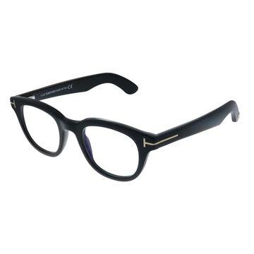 Tom Ford FT 5558-B 001 Unisex Black Frame Eyeglasses 46mm