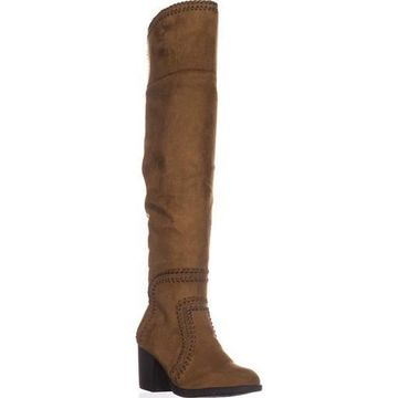 American Rag Womens Lauraine Leather Almond Toe Over Knee