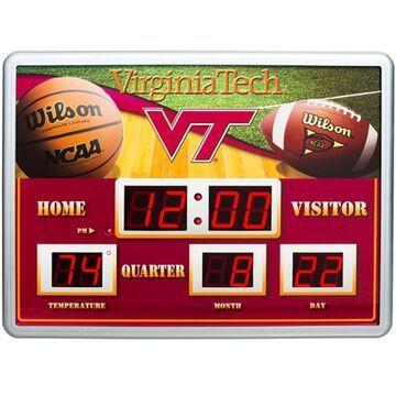 Virginia Tech Hokies 14'' x 19'' Scoreboard Clock