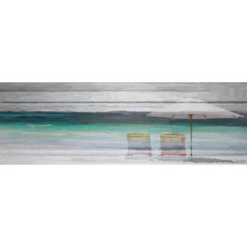 Parvez Taj By the Beach Canvas Wall Art