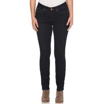 Rafaella Women's Denim With Benefits Skinny Jeans - Dark Indigo -