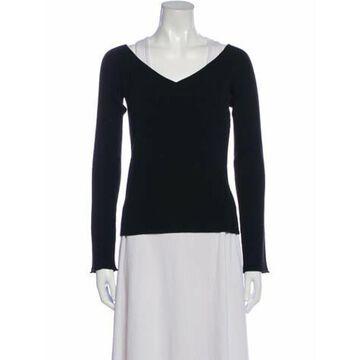 Wool V-Neck Sweater Wool