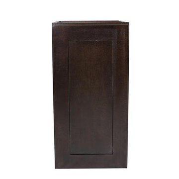 Design House 562157 Brookings Unassembled Shaker Tall Wall Kitchen Cabinet 21x24x12, Espresso