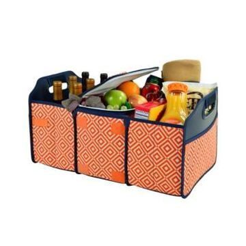 Picnic at Ascot 3 Section Folding Trunk, Tailgate, Shopping Organizer and Cooler