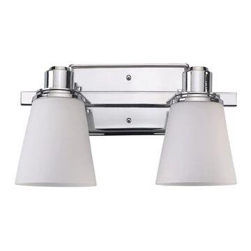 Canarm Chatham 2-Light Chrome Modern/Contemporary Vanity Light | IVL220A02CH