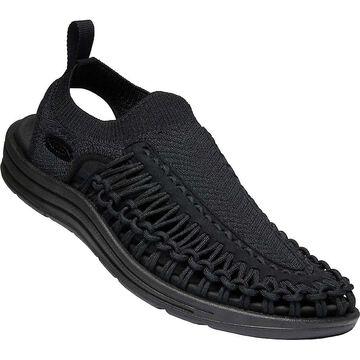 KEEN Men's Uneek Evo Sandal - 14 - Black / Black