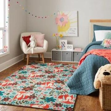 Mohawk Home Enchanted Forest Fox Kids Area Rug