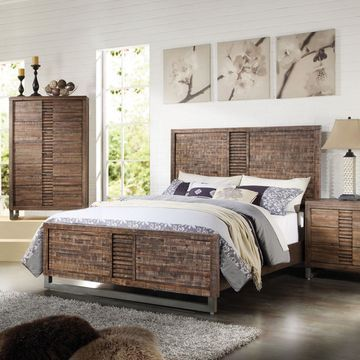 Acme Furniture Andria Panel Bed