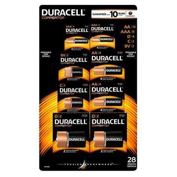 Duracell Coppertop Alkaline Batteries Assortment Pack