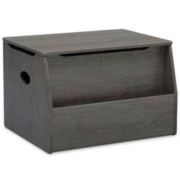 Delta Children Nolan Toy Box in Crafted Grey