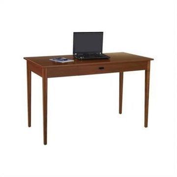Apres Table Desk in Brown- Safco