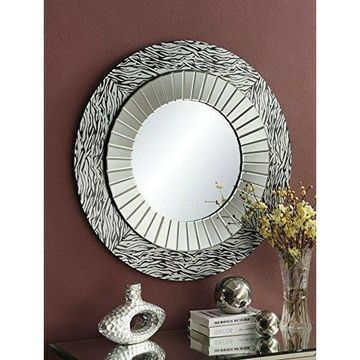 Acme Furniture 97225 Amara Accent Mirror- NEW