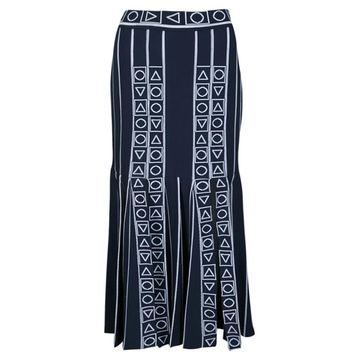 Peter Pilotto Navy Viscose Skirts