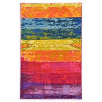 Unique Loom Milan Barcelona 5' x 8' Powerloomed Area Rug
