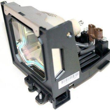 Sanyo 6103055602 Projector Housing with Genuine Original OEM Bulb