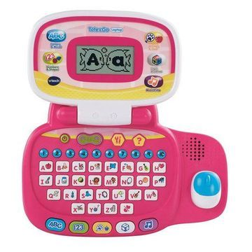 ''VTech Tote and Go Laptop, Pink''