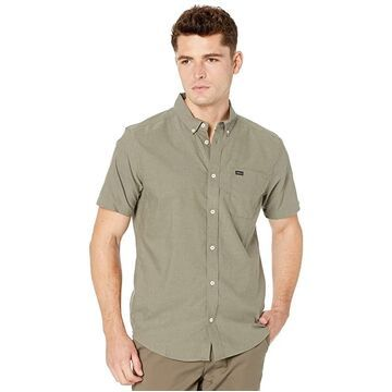 RVCA That'll Do Stretch Short Sleeve (Aloe) Men's T Shirt