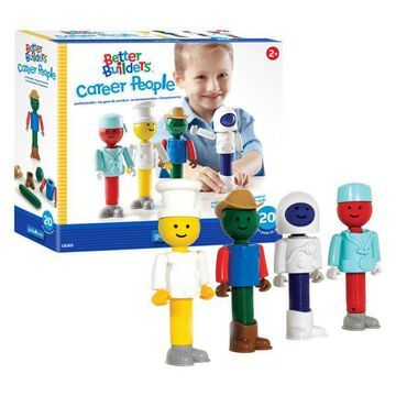 Guidecraft Better Builders Career People Toy Box