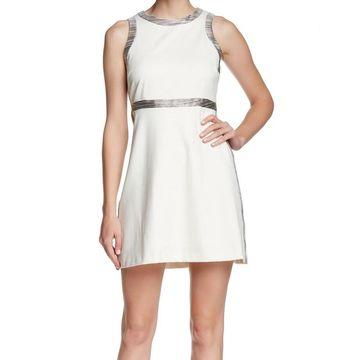 Amanda Uprichard White Ivory Womens Size Large L Jade Sheath Dress