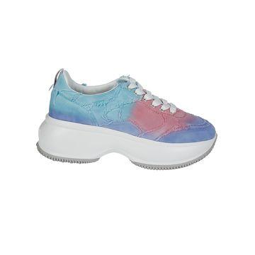 Hogan Multicolor Cotton Sneakers