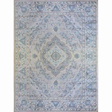 Home Dynamix Oxford Border 7-Foot 10-Inch x 10-Foot 2-Inch Area Rug in Cream