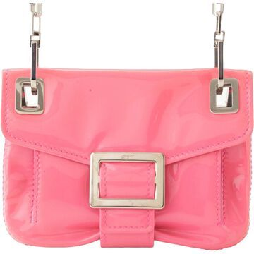 Roger Vivier Pink Patent leather Handbags