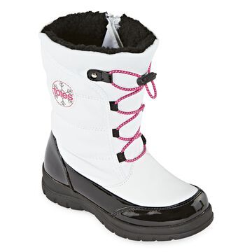 Totes Little Kid/Big Kid Girls Camila Waterproof Insulated Winter Boots