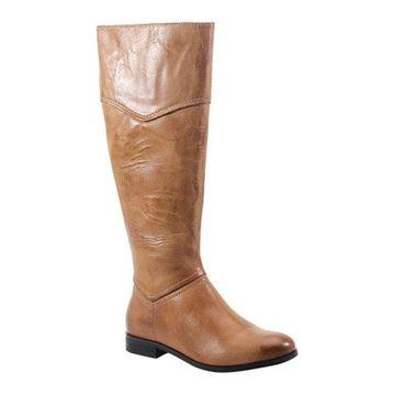 Diba True Women's Poppy Seed Knee High Boot Tan Leather