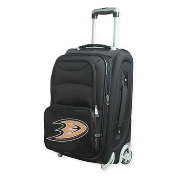 NHL Anaheim Ducks 21-Inch Carry On Spinner