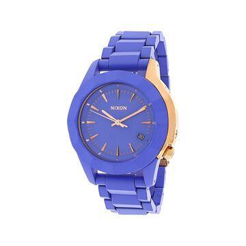 Nixon A2881675 Women's Monarch Purple/Rose Gold Fashion Watch