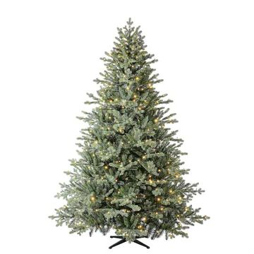 7.5Ft Pre-Lit Balkan Spruce Quick Set Artificial Christmas Tree, Color-Changing LED Lights by Ashland   Michaels