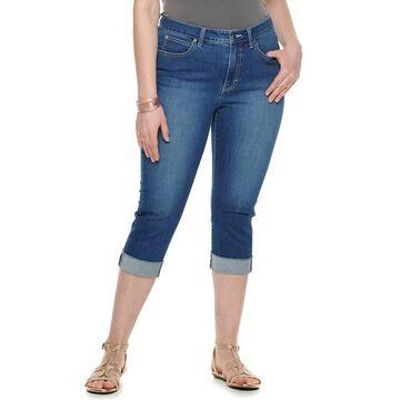 Plus Size Jennifer Lopez Capri Jeans