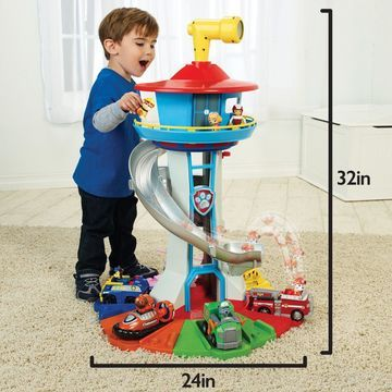 Paw Patrol Rotating Periscope Lookout Tower Kids Child Toy Set Play Light Sound
