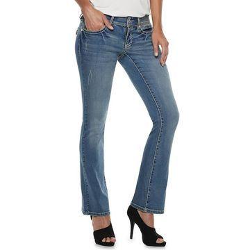 Women's Apt. 9 Embellished Midrise Bootcut Jeans