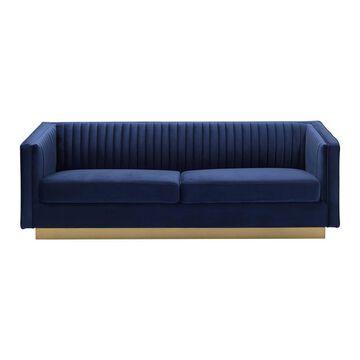 Miranda Velvet Sofa - Armen Living