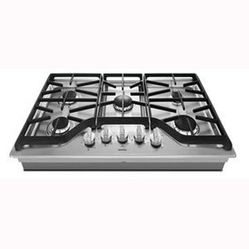 Maytag 36-in 5-Burner Stainless Steel Gas Cooktop (Common: 36-in; Actual: 36-in)