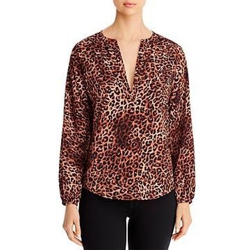B Collection by Bobeau Julius Leopard-Print Top
