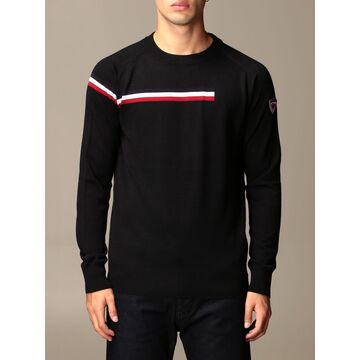 Rossignol Sweater Diago Rossignol Crewneck Sweater With Striped Band