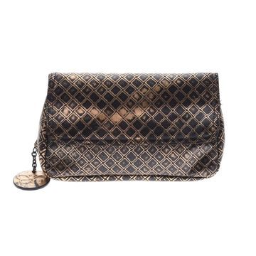 Bottega Veneta Gold Leather Handbags